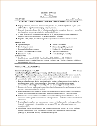 Inspiration Manufacturing Resume Samples About 100 Resume For