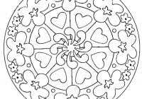 Disegni Di Mandala Facili Da Colorare Per Bambini Da Stampare Gratis