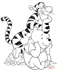 Disegno Di Tigro E Pooh Da Colorare Disegni Da Colorare E Stampare