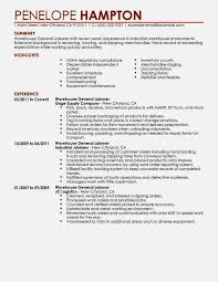 Best Warehouse Associate Resume Example   LiveCareer