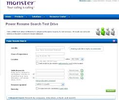 Free Resume Search For Employers In Usa Resume Search Sites