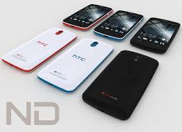 Htc desire 500 3D Model for Download