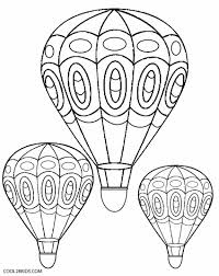 Each quotient represents a color. Hot Air Balloon Coloring Pages Cool2bkids