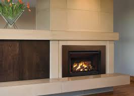 valor fireplace inserts g4 logs black fluted liner floating trim kit in bronze