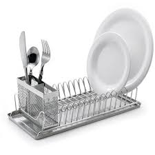 add style to your kitchen using dish drying rack home interior design with kitchen decoration