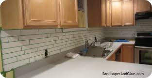 faux kitchen tile wallpaper. faux tile backsplash instructions kitchen wallpaper
