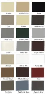 Ply Gem Gutter Color Chart Vinyl Gutter Colors Related Keywords Suggestions Vinyl