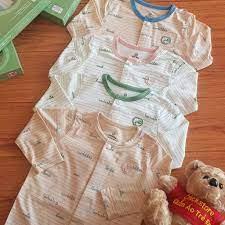 Sơ Sinh 04/21] Bộ Quần Áo Sơ Sinh Dài Tay Cài Giữa Vải Sợi Tre Bambus Bu  Baby An Toàn Cho Bé - Hàng Chính Hãng Việt Nam
