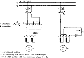 circuit diagram single phase motor wiring diagram the safety