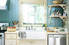 small bay window above kitchen sink with wood decorating ideas