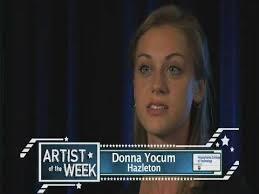 WVIA ARTIST OF THE WEEK   Donna Yocum, Hazleton   09-10 - YouTube
