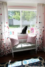 Navy Bedroom Curtains Remodelaholic Confetti Drapes Tutorial