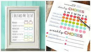 Somewhat Simple Chore Chart 10 Creative Chore Charts Printables For Kids From