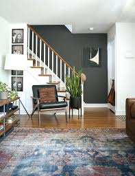 grey living room with accent wall accent wall living room dark gray accent wall rug a