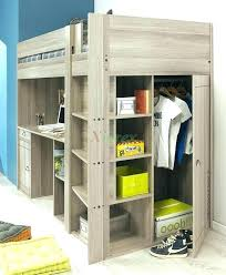 bed with closet underneath loft lofted inspiring largo beds for teens walk in bed with closet underneath bunk