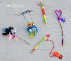 crafting with sticks diy toys for imaginative play