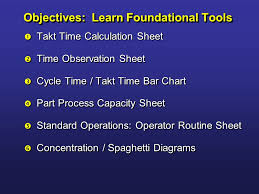 Lean Tools Overview Continuous Improvement Training