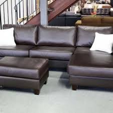 brown leather sectional couches. Traditional Style Living Room Makeover With Low Price Brown Leather Sectional Couches, And Square Hickory Coffee Table Couches P