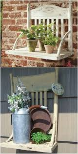how to repurpose old furniture. Delighful Furniture 9 Make A Rustic Garden Shelf In How To Repurpose Old Furniture