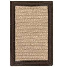 beverly brown 6 ft x 9 ft braided indoor outdoor area rug