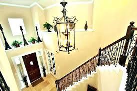 two story foyer lighting ideas 2 story foyer chandelier installation 2 story foyer chandelier two story