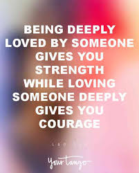 Feeling Loved Quotes Delectable The 48 Best Love Quotes To Help You Say I Love You Perfectly YourTango
