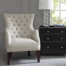 the dar home co steelton on tufted wingback chair reviews in tufted wingback dining chair designs