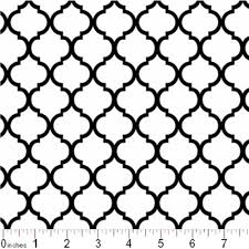 Quatrefoil Pattern Magnificent Cotton Fabric Pattern Fabric Mini Quatrefoil Lattice Pattern