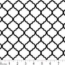 Lattice Pattern Extraordinary Cotton Fabric Pattern Fabric Mini Quatrefoil Lattice Pattern