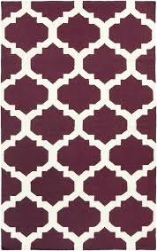 purple and white area rug purple white geometric trellis rug by artistic weavers super area rugs