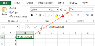 Excel Formulas Not Working How To Fix Formulas Not Updating Or