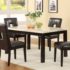 Marble Top Kitchen Table Set Mainstays 5 Piece Faux Marble Top Dining Set Walmartcom