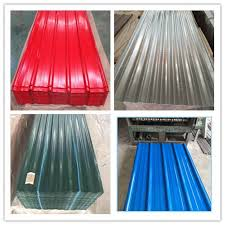 corrugated steel color metal panels claddings roof wall sheets