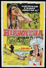 hiawatha one sheet movie poster vince edwards