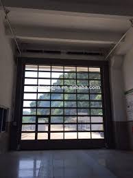 electric heavy duty glass panel sectional garage door with glass garage door replacement shower door vs