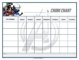 Avengers Potty Chart Free Printable Avengers Chore Chart Printable Chore Chart
