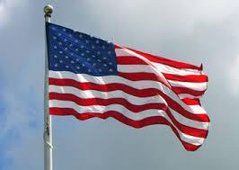 Символы США Флаг США Энциклопедия США На флагштоке национальный флаг США