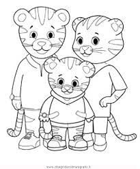 Small Picture Daniel the tiger coloring pages