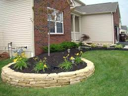 Backyard Retaining Wall Designs Delectable Backyard Retaining Wall Garden Landscaping Front Retaining Wall