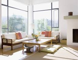asian living room in this bright and sunny asian living room simplicity is key the low furniture
