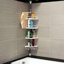 Telescopic Shower Corner Shelves Denny International 100100cm 100 Tier Adjustable Stainless 66