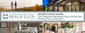editors choice award the chesapeake bay beach club is a world cl wedding