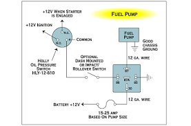 electrical wiring fuel pump relay and toggle the h a m b