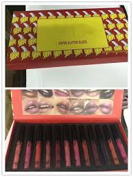 <b>12sets DHL</b> Summer edtion 12pcs/set lipstick lipgloss matte super ...