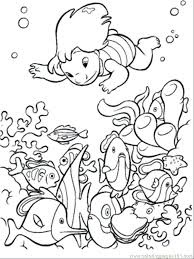 Small Picture Ocean Animals Coloring Pages Pdf For Kids Printable Free