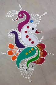 Easy Cartoon Rangoli Designs Ganesh Chaturthi 2017 Easy Rangoli Designs And Images