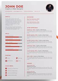 Eye Catching Resume Templates Stunning 28 EyeCatching Resume Templates That Will Get You Noticed Work