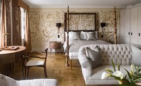 London Wallpaper Bedroom Adria Boutique Hotel Wallpaper