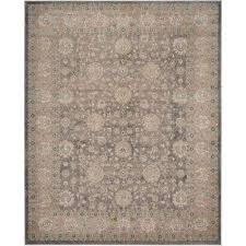 sofia light gray beige 8 ft x 10 ft area rug