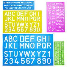 Templates Alphabet Letters Mr Pen Alphabet Templates Alphabet Stencils Pack Of 5 Letter Stencils Template Letters Stencils Letters And Numbers Art Stencils Drawing